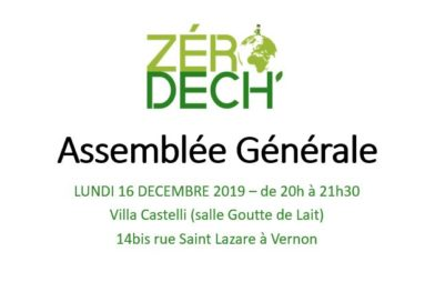 Assemblée Générale – 16/12/2019